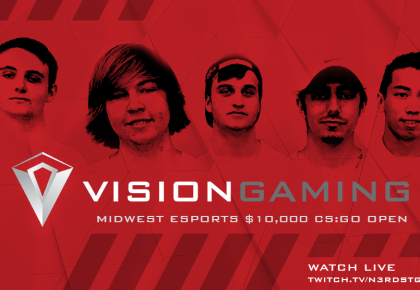 Vision Gaming Invades Tulsa for the Midwest eSports CS:GO Open